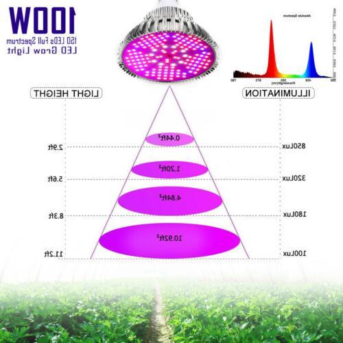 100W Full Spectrum for Indoor Hydroponics