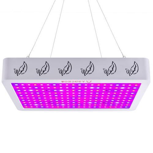 1200/2000/4000W LED Full Spectrum Plants VEG US
