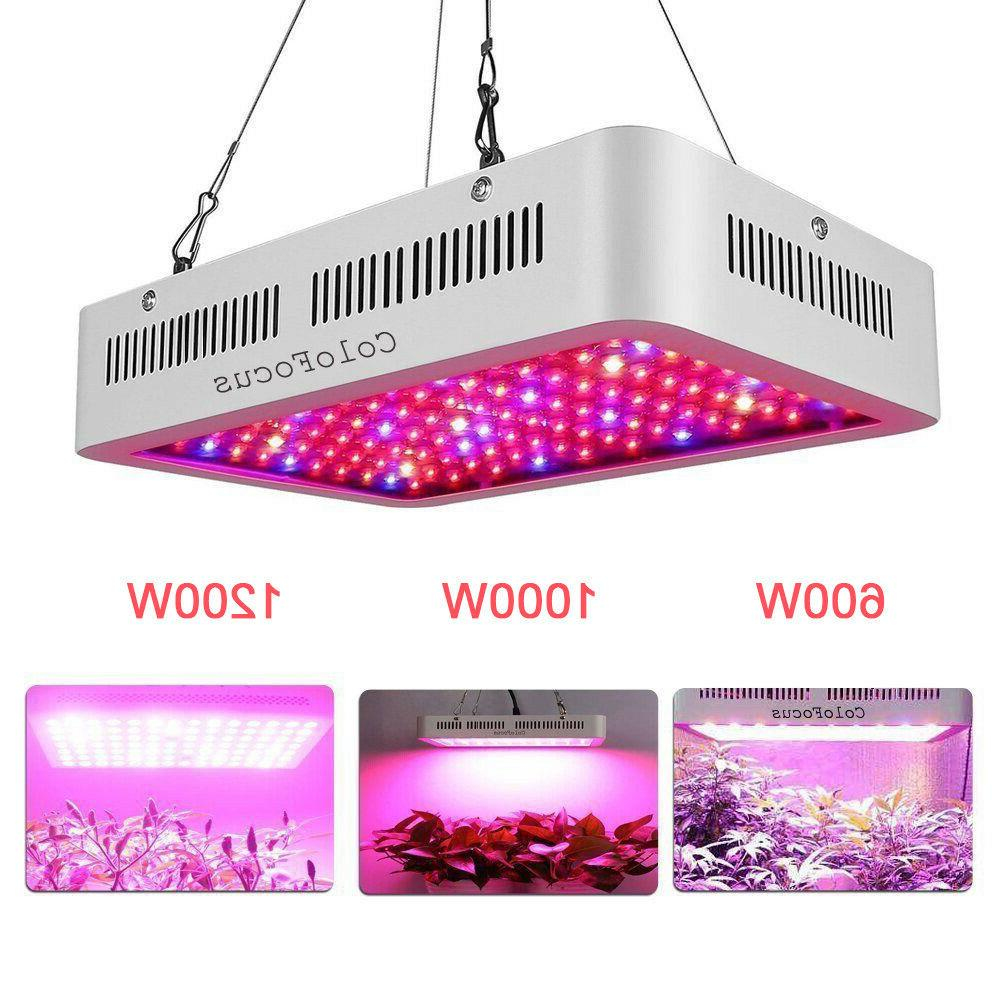 1200w 1000w 600w led grow light panel