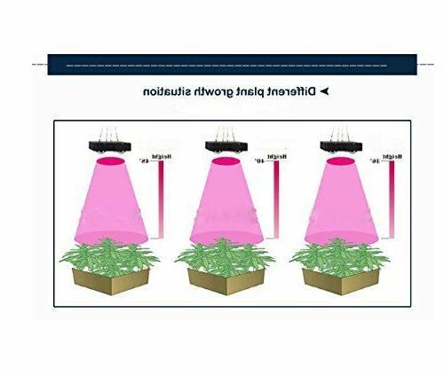TopoGrow 1200W Full Spectrum COB LED Grow 600D Grow