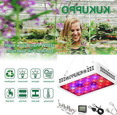 1200W Light Full Spectrum Hydroponic Indoor Plant