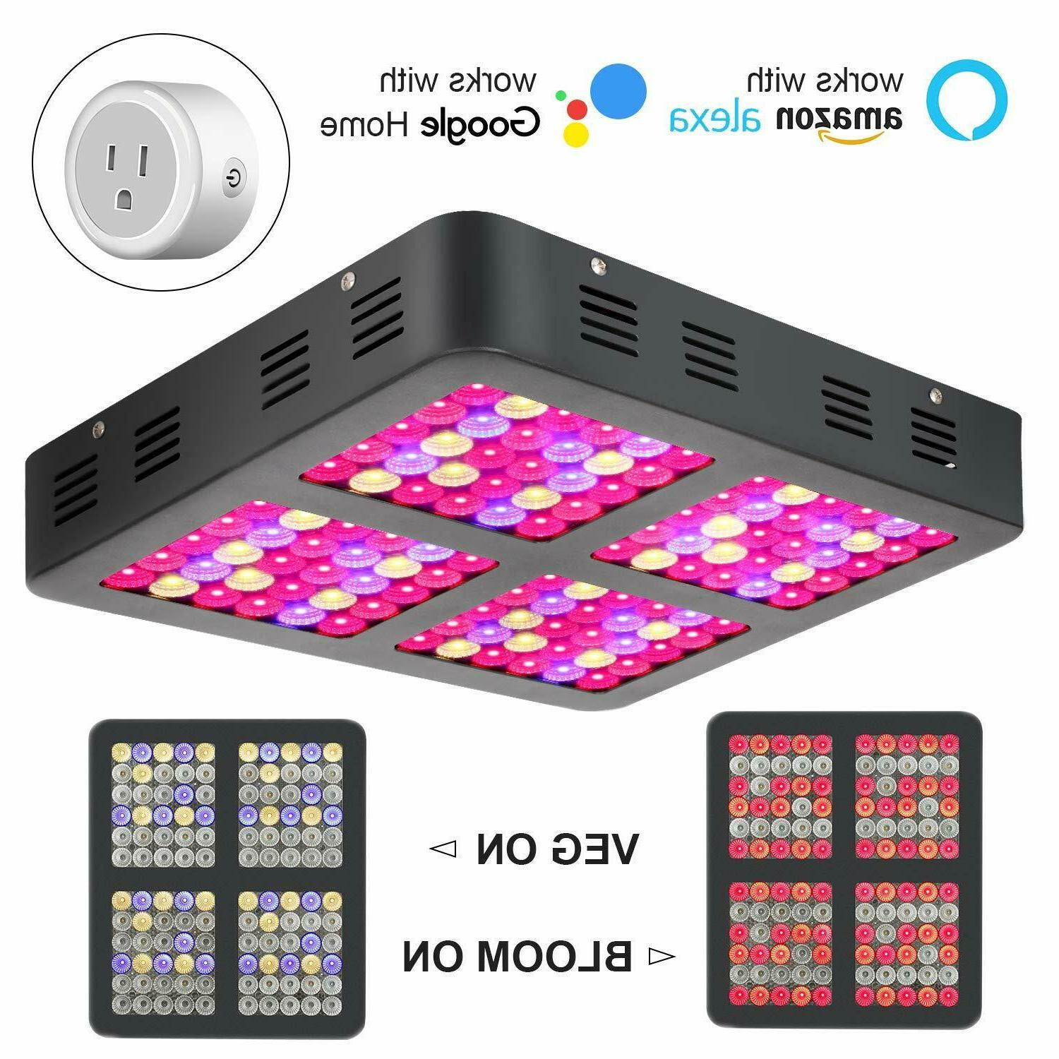 1200w led grow light full with bloom