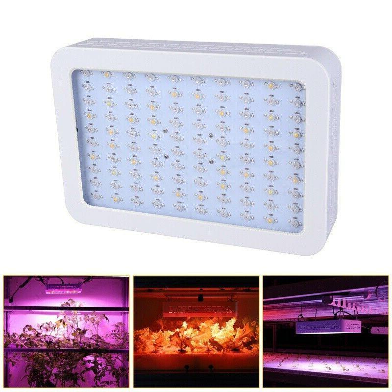 1200W LED Hydroponic Veg Flower Plant Lamp Panel