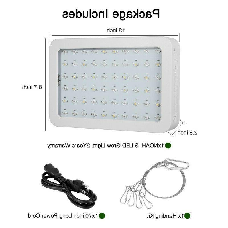 1200W LED Hydroponic Full Veg Panel