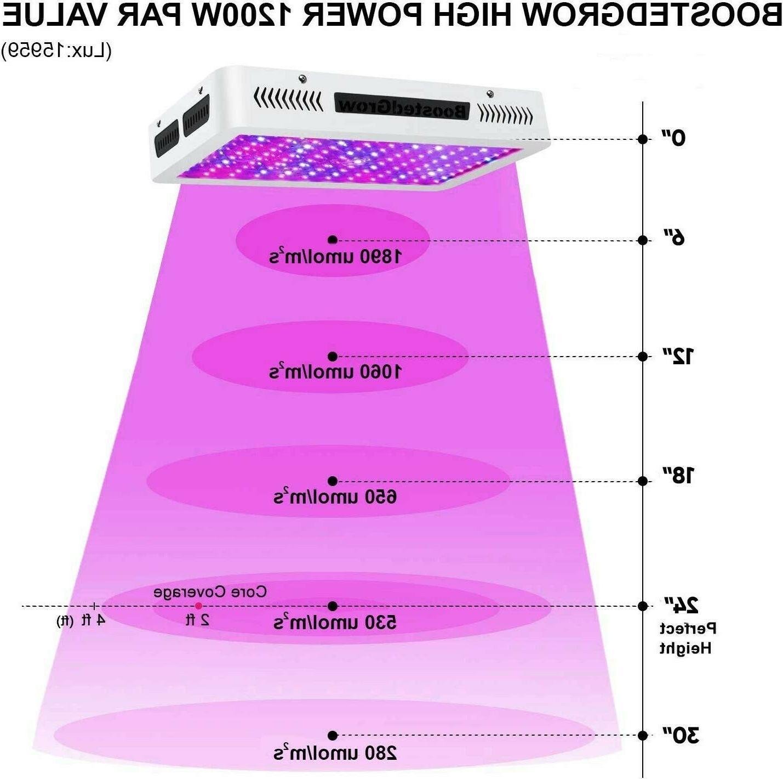 1200W LED Plant Grow Light Full Spectrum Light for