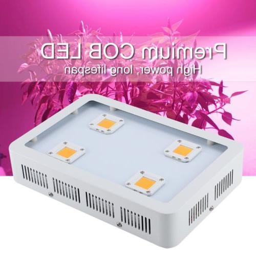 1200W Plant LED COB Full Spectrum Grow Light Lamp for Plants