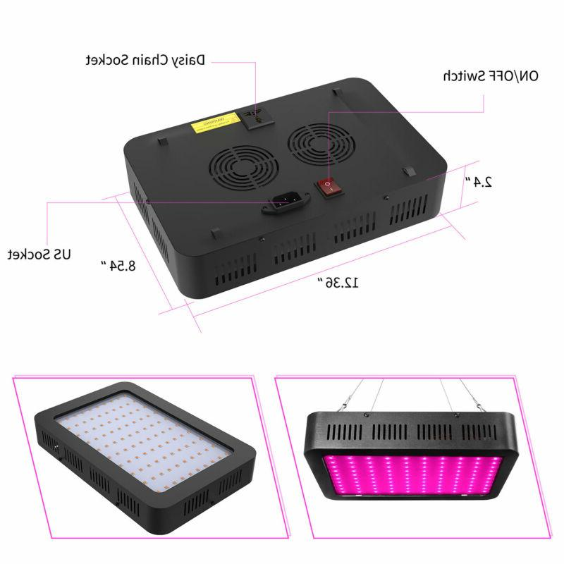 1500 Watt Grow Lights Full Grow Panel Band