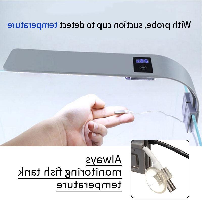 Lighting Fishbowl <font><b>Light</b></font> Lamp For Tank Lantern Luminary <font><b>Thermometer</b></font>