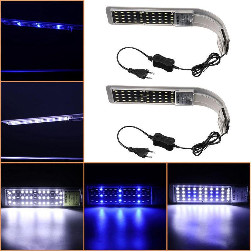 15W Lighting Fishbowl <font><b>Light</b></font> Lamp For Fish Tank Luminary <font><b>Thermometer</b></font>