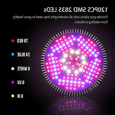 100Watt LED Grow Bulb E27 Full Spectrum Fruit