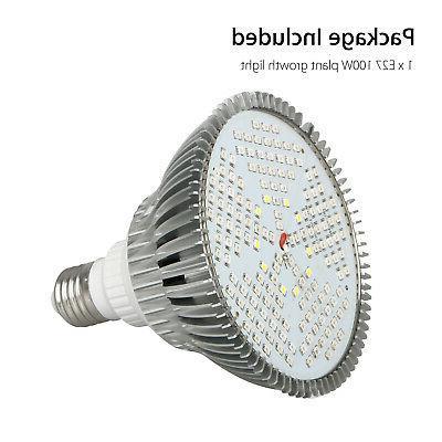 100Watt Grow Light Bulb E27 Full Garden Fruit