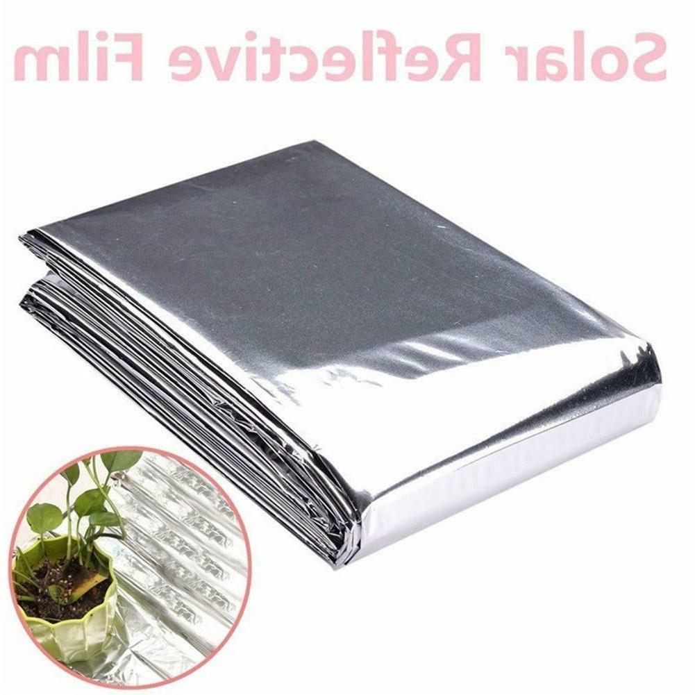 1pc Silver Reflective Film Plant Grow
