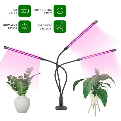 2/3 Grow Lights Lamp Indoor Plants Hydroponics