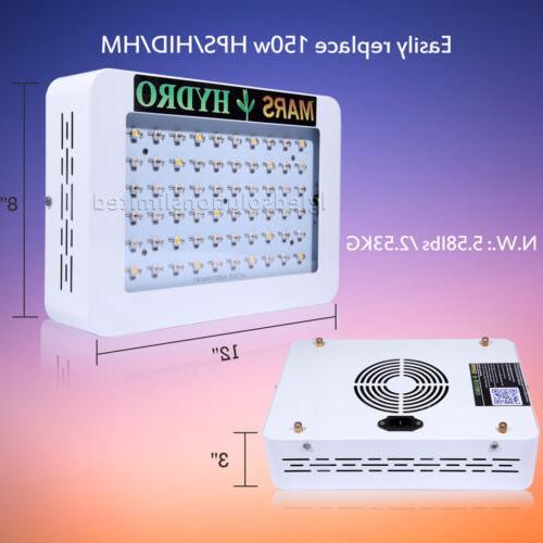 2*300W LED Grow Light Veg Bloom Full Indoor Medical