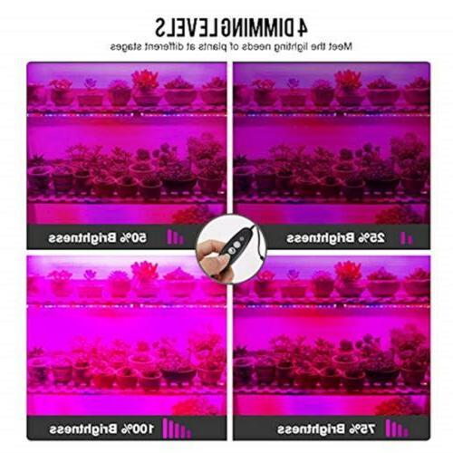 Lightimetunnel Grow Light with Timer, 20W Strip