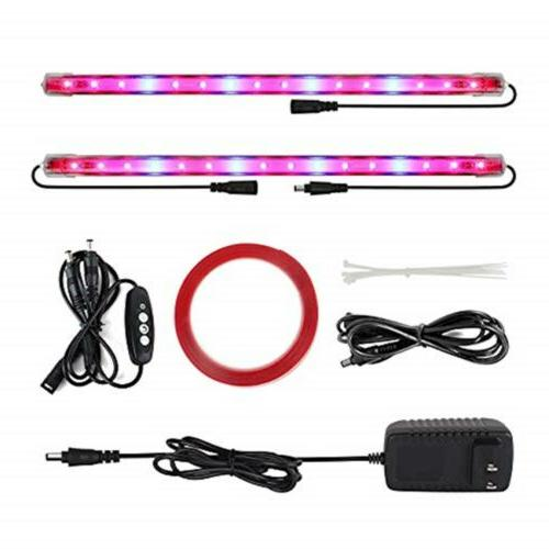 2 pack led grow light with timer