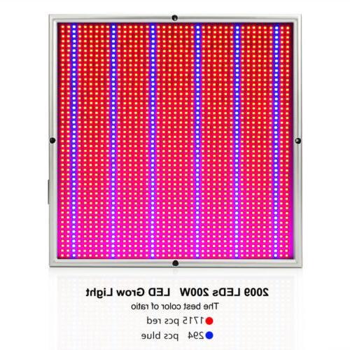 200W Grow Panel 2009 LEDs for Plants