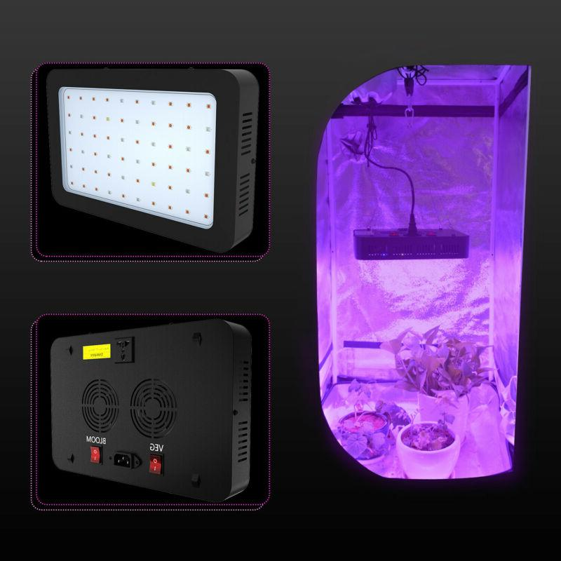 2000W 1000W LED Grow Light VEG&Bloom Hydroponic