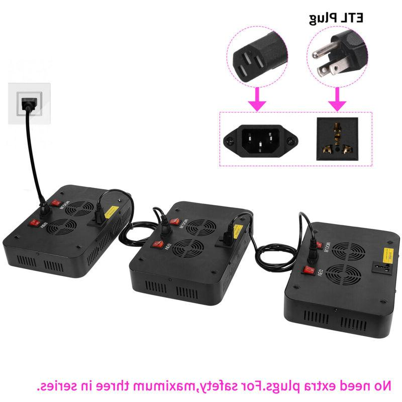 2000W 1500W 1000W LED Grow VEG&Bloom Dual Switch