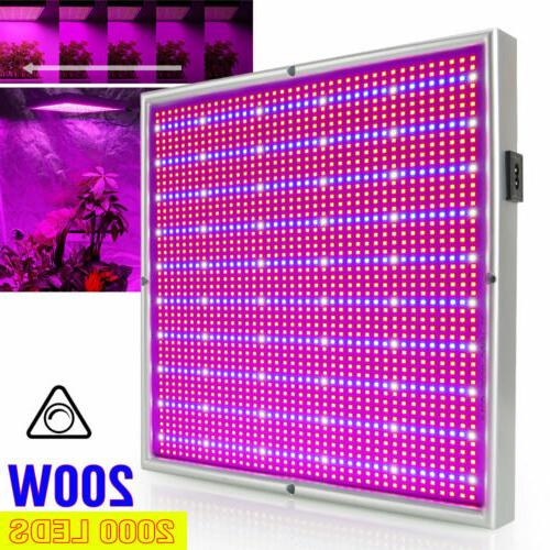 200w 2000leds led grow light full spectrum