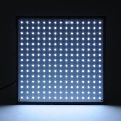 225 LED Light Ultrathin Lamp Red