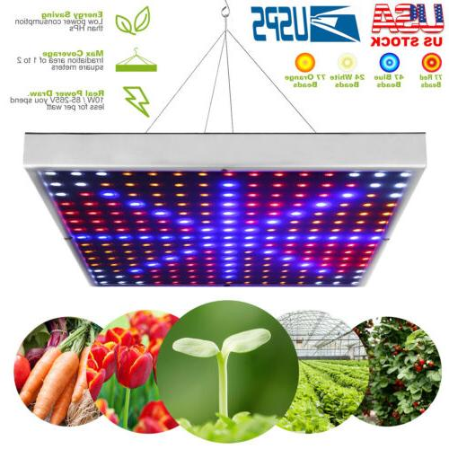 LED Full Spectrum Plant UV Grow Light Veg Lamp For Indoor Hy