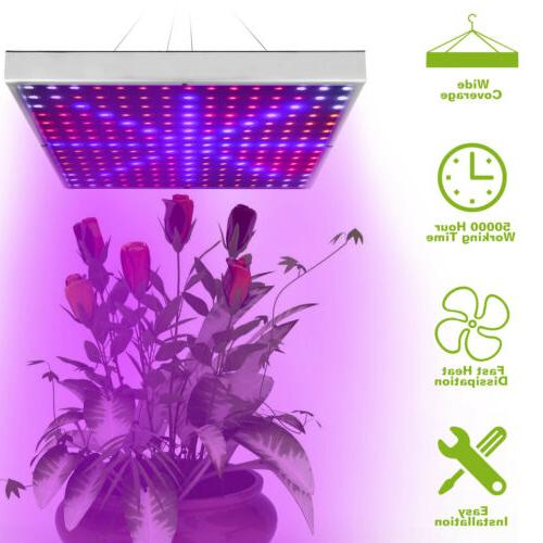 225 Hydroponic Grow Light Garden Blue Lamp