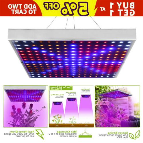 225 led hydroponic ultrathin grow light panel