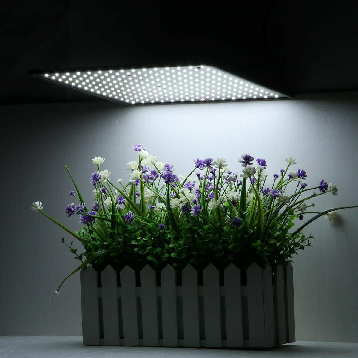 225LED Grow Light White Lamp Ultrathin Panel Hydroponics Ind