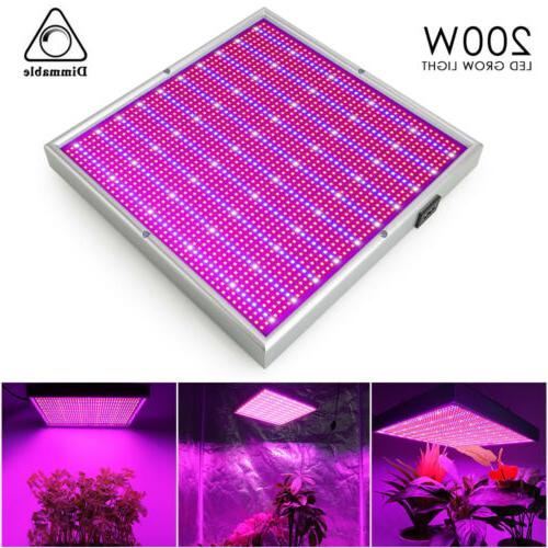 Dimmable 200W Light Flower Blooming Full Indoor Plant