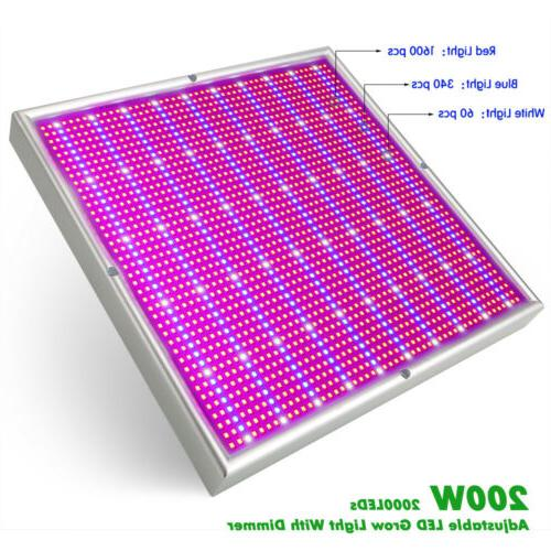 200W Light Flower Panel
