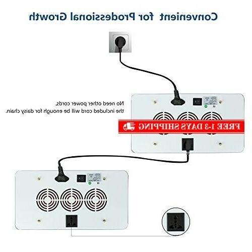 Roleadro 600W LED Grow Light 2nd Plant