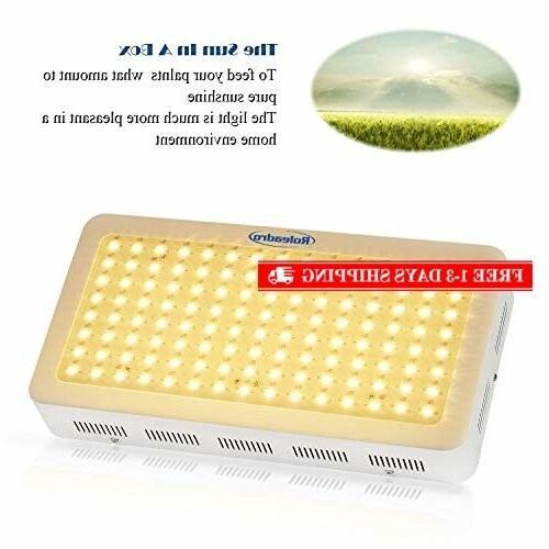 Roleadro 600W LED Grow Light Generation Plant Light Full