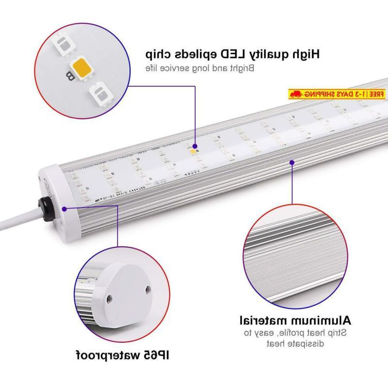 2Pcs Light, Lightimetunnel Full Spectrum For