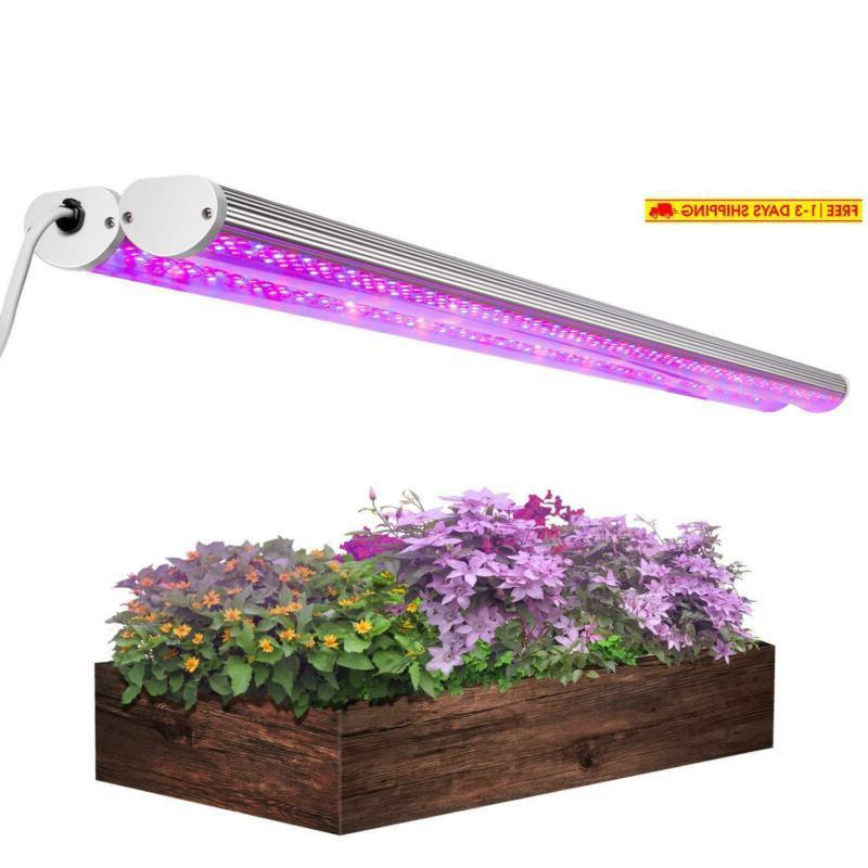 2pcs 3 3ft led grow light 150w