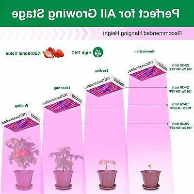 1200W LED Grow Light Full Plant