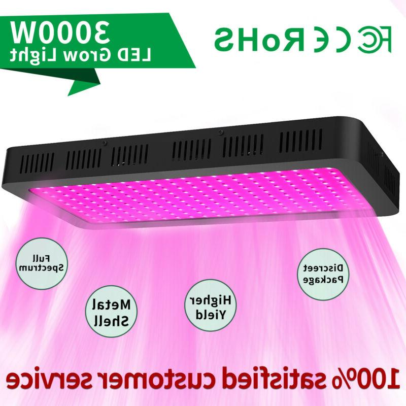 3000w led grow lights full spectrum hydroponic