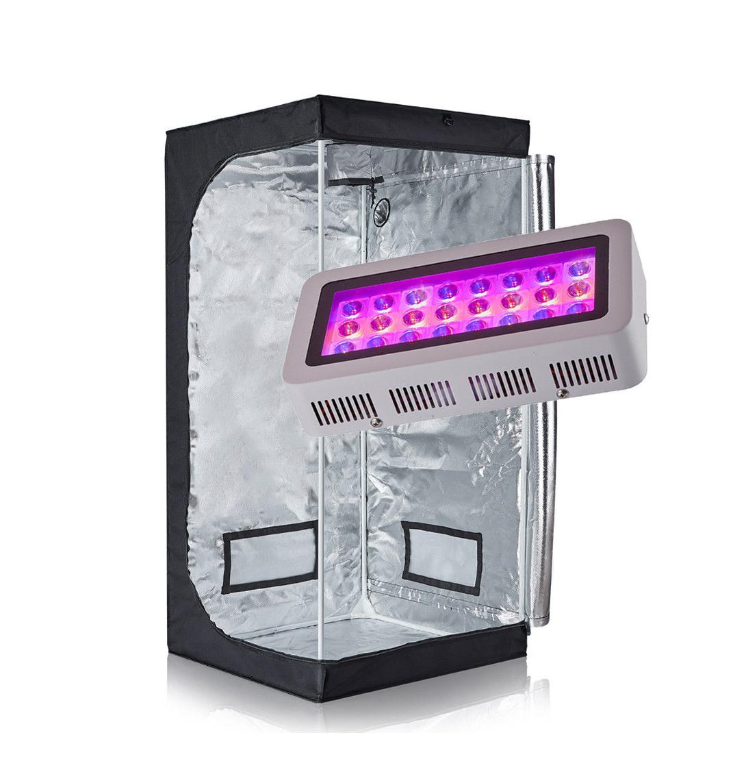 TopoGrow LED Grow Light+Grow Tent Hydroponic System/Plastic