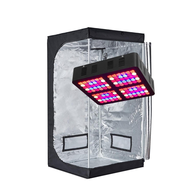 TopoGrow 300W/600W LED Light Tent/Window/Metal