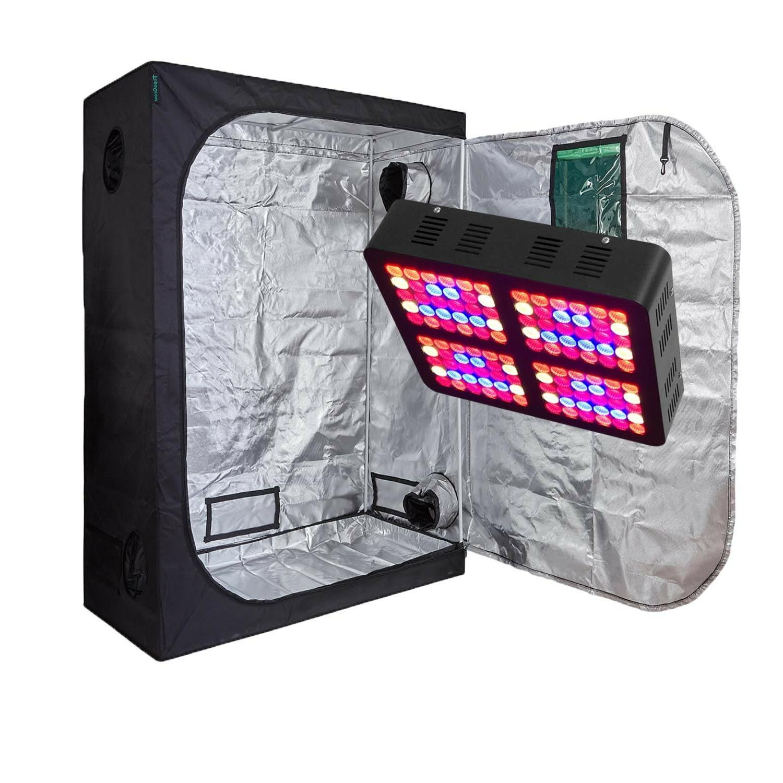 TopoGrow Light Grow Tent/Window/Metal
