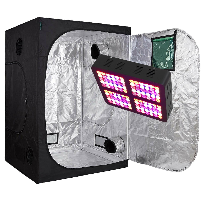 TopoGrow Light Kit Grow Tent/Window/Metal