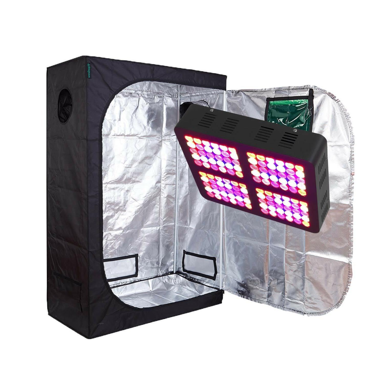 TopoGrow 300W/600W LED Grow Light Grow