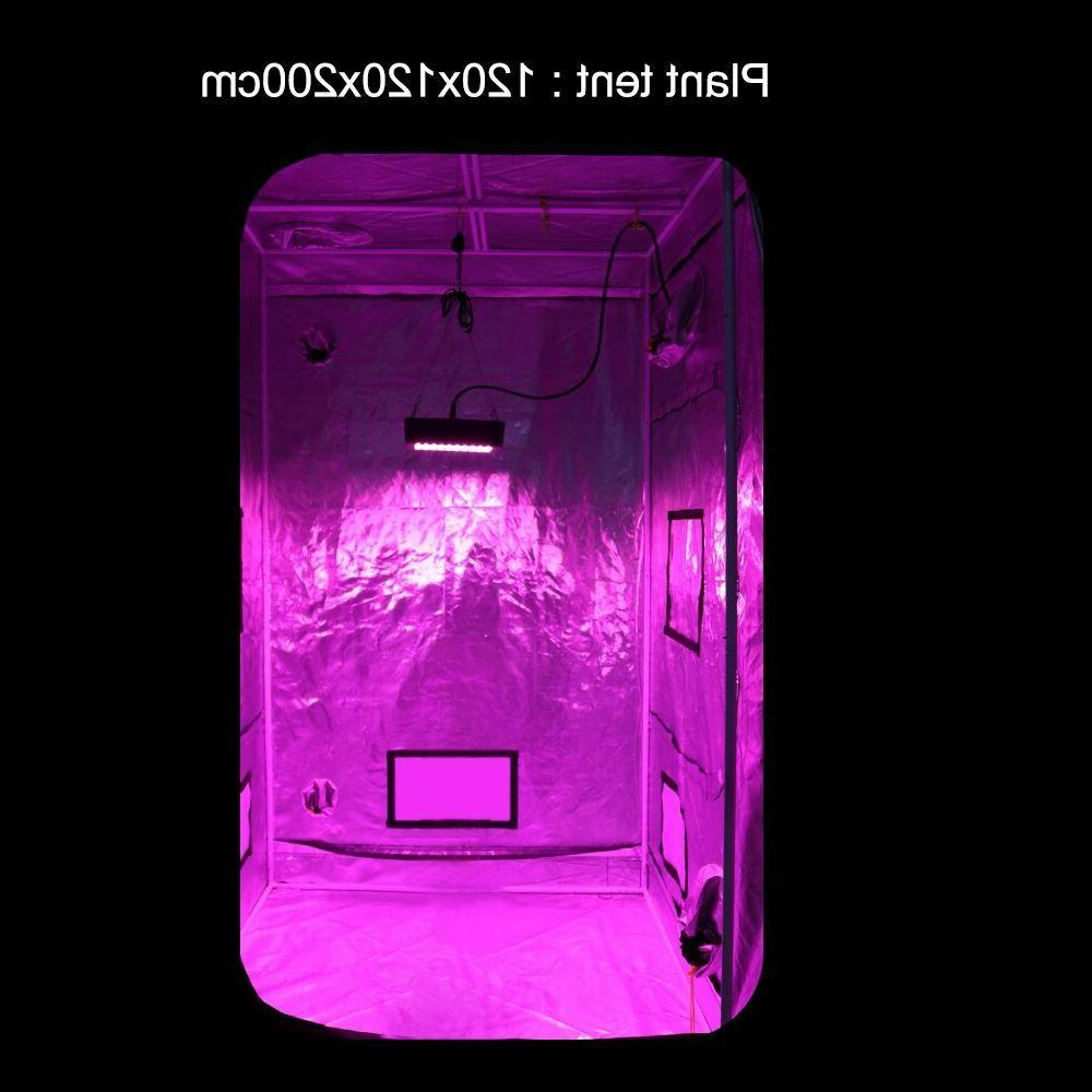 300W LED Grow Hydroponic Seed Plants Flower Stay Cool