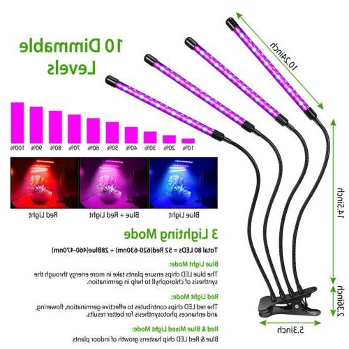 Grow for Indoor Plants 80 with Spectrum Timer