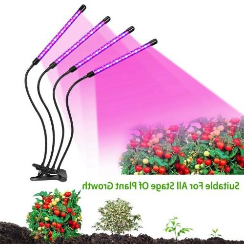 4 Light Lamp Lights for Indoor Hydroponics