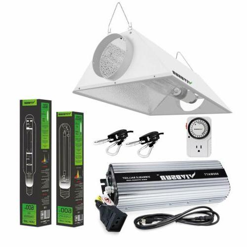 400w 600w 1000w watt grow light kit