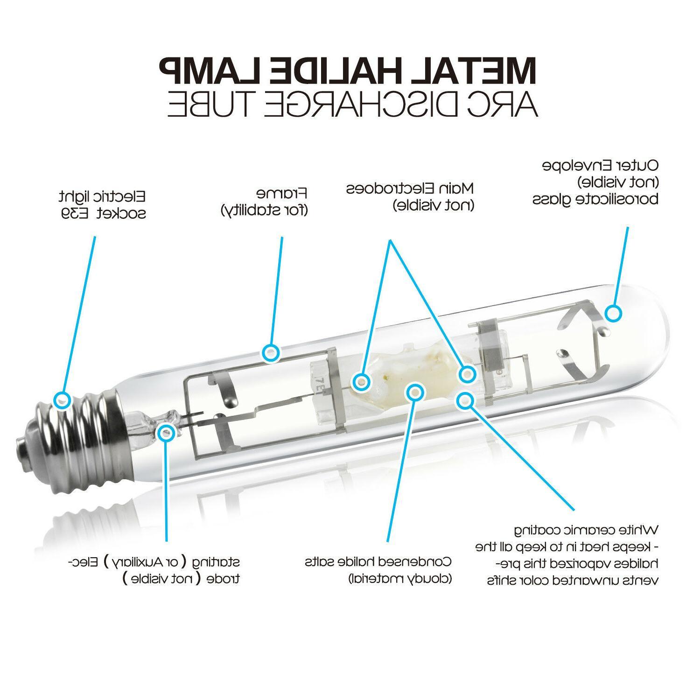 iPower 400W HPS High MH Grow Lamp