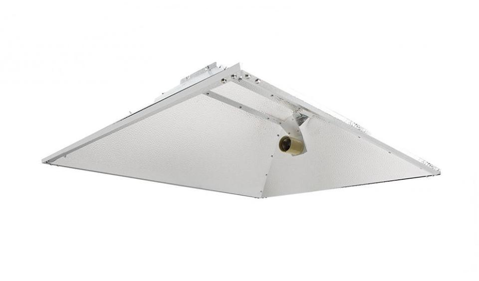 Hydroplanet™ Open Hood Reflector Set Hydroponic 1000W...