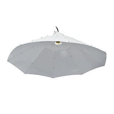 42 vertical umbrella hydroponic grow light reflector