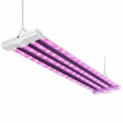 AntLux LED Grow Light Growing Lamp Fixture 4ft 80W Full Spec
